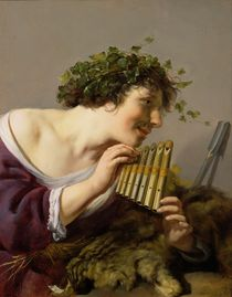 Pan Playing his Pipes  von Paulus Moreelse