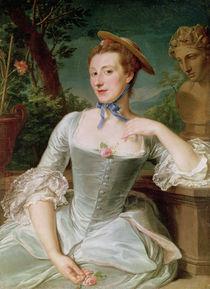 Jeanne Antoinette Poisson  by Francois-Hubert Drouais