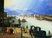 View of Venice  by Louis de Caullery