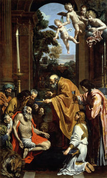 The Last Sacrament of St. Jerome by Domenichino
