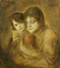 Mother and Child by Franz Seraph von Lenbach