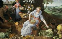 An Allegory of Summer  by Lucas van Valckenborch