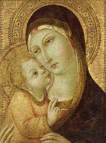 Madonna and Child  von also Ansano di Pietro di Mencio Sano di Pietro