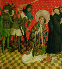 The Martyrdom of St. Thomas of Canterbury by Master Francke