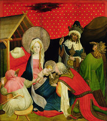 The Adoration of the Magi by Master Francke