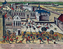 The Haultepenne Fury in 1581  von Franz Hogenberg