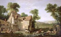 The Farm by Jean-Baptiste Oudry