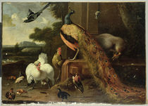 Revolt in the Poultry Coup  by Melchior de Hondecoeter