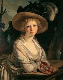 Portrait of a Young Woman  von Pierre-Paul Prud'hon