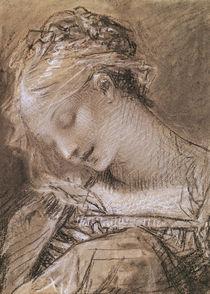 Head of the Virgin  von Pierre-Paul Prud'hon