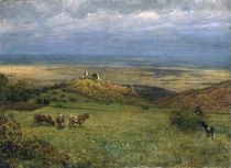 View of Kronberg in Taunus von Hans Thoma