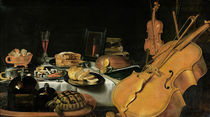 Still Life with Musical Instruments von Pieter Claesz