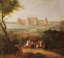The Chateau de Chambord by Pierre-Denis Martin