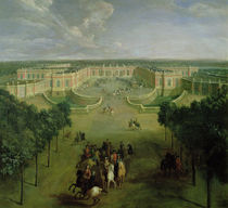 View of the Grand Trianon by Pierre-Denis Martin
