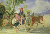Italian Cart  by Rudolph Friedrich Wasmann