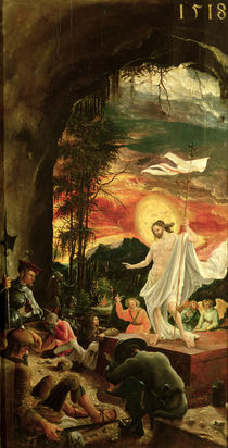 Resurrection of Christ by Albrecht Altdorfer