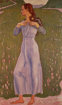 Emotion  by Ferdinand Hodler