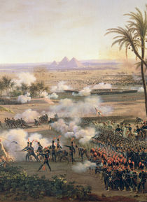 Battle of the Pyramids by Louis Lejeune