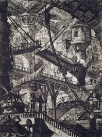 Carceri VII by Giovanni Battista Piranesi