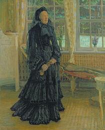 Marie Zacharias  by Leopold Karl Walter von Kalckreuth