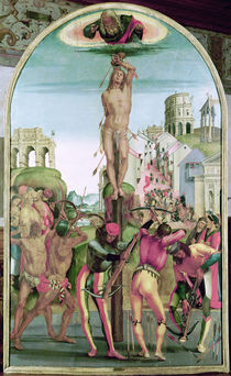 The Martyrdom of St. Sebastian  by Luca Signorelli