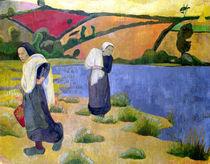 Washerwomen at the Laita River von Paul Serusier