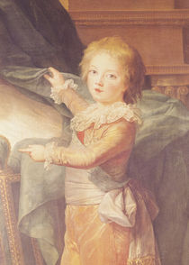Marie-Antoinette and her Children by Elisabeth Louise Vigee-Lebrun