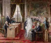 Study for the Civil Marriage in the Town Hall of the 19th Arrondissement by Henri Gervex