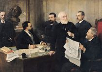 The Board of Directors of 'La Republique Francaise' by Henri Gervex