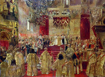 Study for the Coronation of Tsar Nicholas II  by Henri Gervex