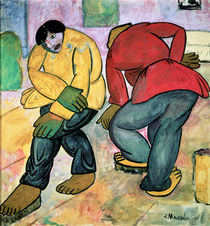 The Floor Polishers by Kazimir Severinovich Malevich