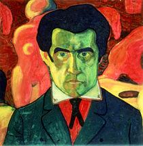 Self Portrait von Kazimir Severinovich Malevich