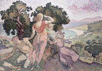 The Excursionists von Henri-Edmond Cross