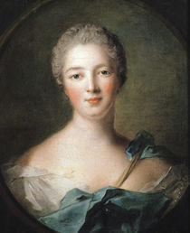 Madame de Pompadour  by Jean-Marc Nattier