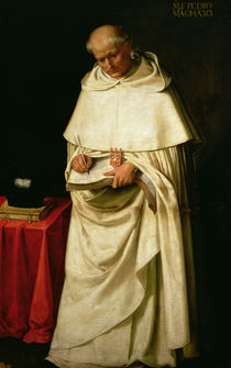 Brother Pedro Machado  by Francisco de Zurbaran