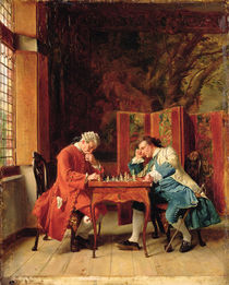 The Chess Players by Jean-Louis Ernest Meissonier