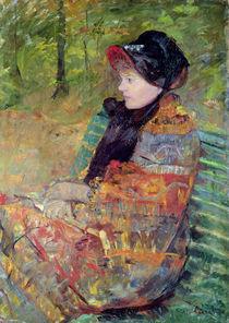 Portrait of Mlle C. Lydia Cassatt von Mary Stevenson Cassatt