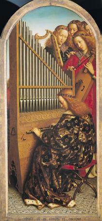 Angel musicians von Hubert Eyck