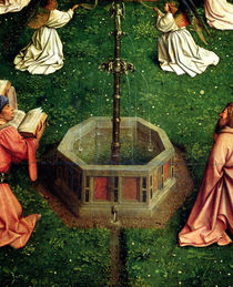 The Ghent Altarpiece: The Fountain of Life by Hubert Eyck