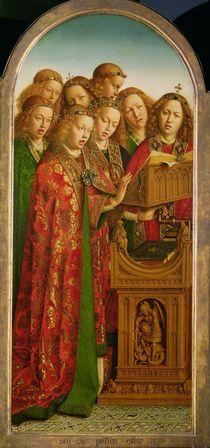 Singing Angels von Hubert Eyck