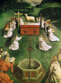 Copy of The Adoration of the Mystic Lamb by Hubert Eyck