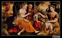 Lot and his Daughters by Jan Massys or Metsys