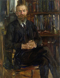 Portrait of Dr Edward Meyer  von Lovis Corinth