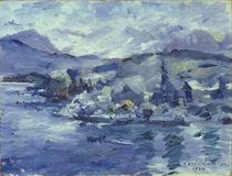 Afternoon on Lake Lucerne by Lovis Corinth