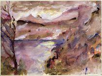 View of Walchen Lake von Lovis Corinth