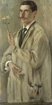The Painter Otto Eckmann  von Lovis Corinth