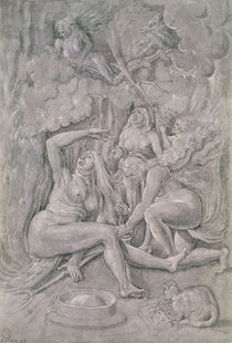 The Witches' Sabbath by Hans Baldung Grien