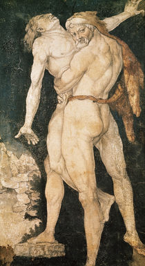 Hercules and Antaeus by Hans Baldung Grien