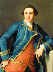 Portrait of Sir John Armytage  by Pompeo Girolamo Batoni
