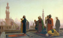 The Prayer by Jean Leon Gerome